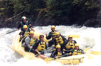 Whitewater rafting - 1 yr before crash